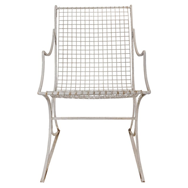 Salterini Mid-Century Modern White Metal Chairs - Set of 4 For Sale In New York - Image 6 of 13