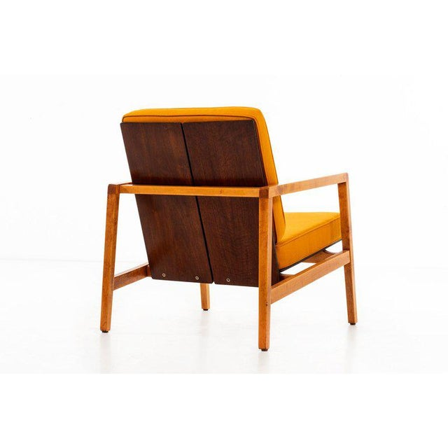 1950s Lewis Butler Pair of Arm Chairs For Sale - Image 5 of 10