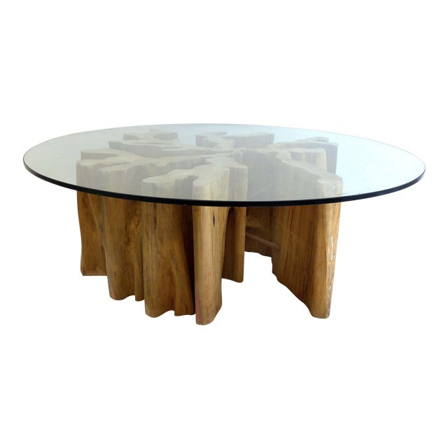 Brazilian Amazon Guaranta Wood Table Base For Sale