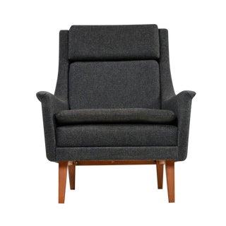 Original Scandinavian Modern Lounge Chair by Folke Ohlsson & Fritz Hansen