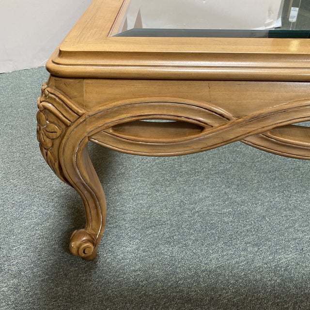 Tan Century Furniture Chardeau Collection Coffee Table For Sale - Image 8 of 12