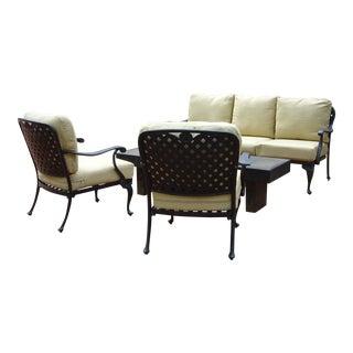 Summer Classics Provance Outdoor Living Room Set - Set of 3