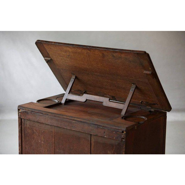 Wood Important Queen Anne Walnut Architect's Chest, Circa 1710 For Sale - Image 7 of 10