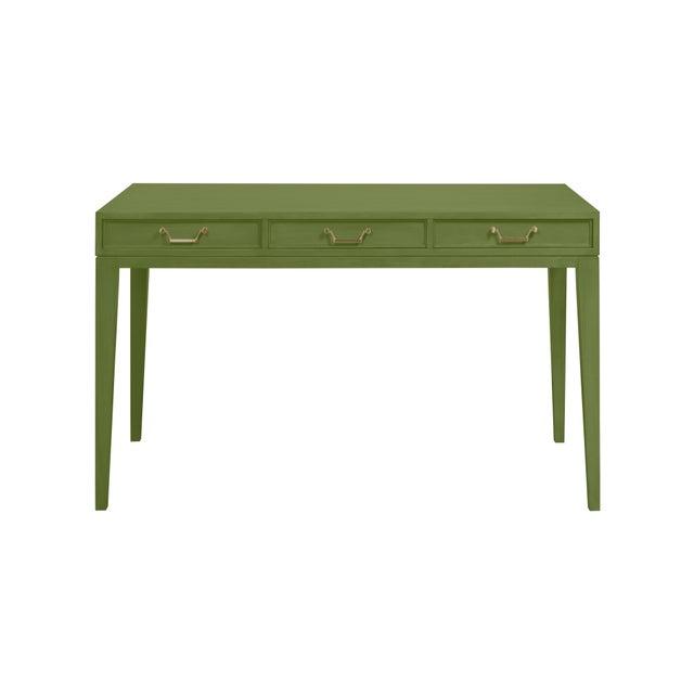 Traditional Casa Cosima Living Tilda Berkley Taper Leg Desk - Garden Spot For Sale - Image 3 of 3