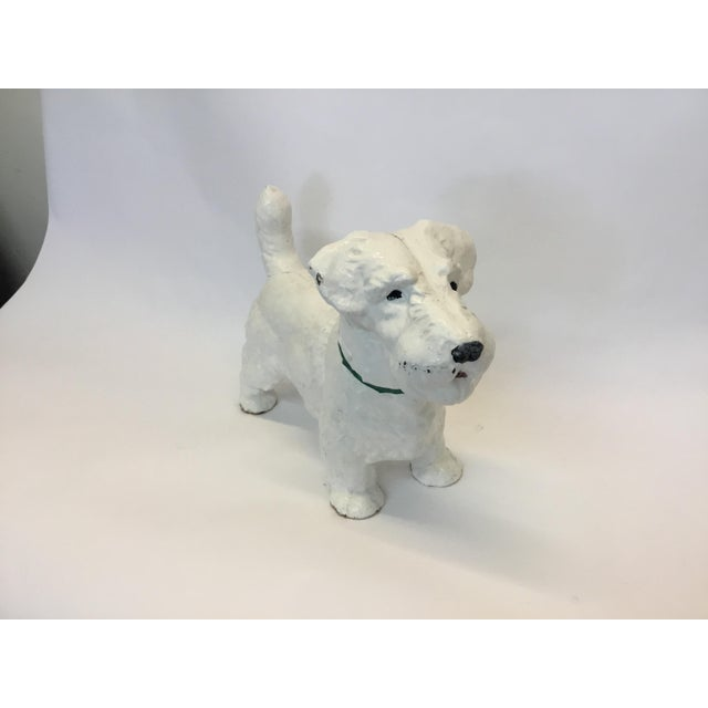 Iron Dog Westie Decorative Figurine - Image 2 of 4