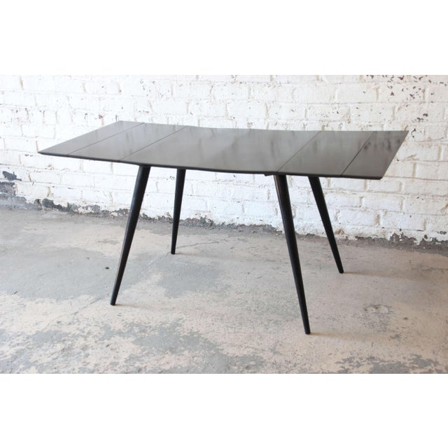Paul McCobb Planner Group Ebonized Dinette Table For Sale In South Bend - Image 6 of 10