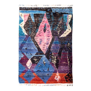 """Tulle Hand Knotted Area Rug - 5' 4"""" x 7' 6"""""""