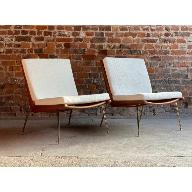 Boomerang Chairs France & Son Peter Hvidt & Orla Mølgaard Nielsen, 1950s - A Pair For Sale - Image 12 of 13