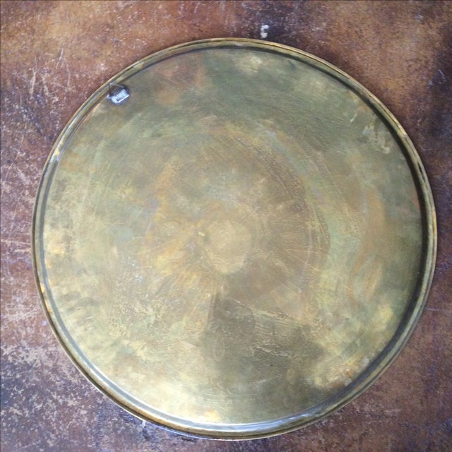 Etched Brass Tray - Image 6 of 6