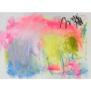 "Sarah Trundle, ""Flash"", Contemporary Abstract Painting For Sale"