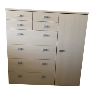 Dania Contemporary Wood Chest For Sale