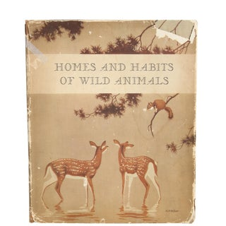 """Homes & Habits of Wild Animals"" Hardcover Book"