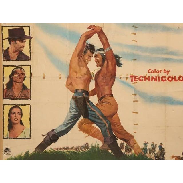 Movie Poster of Arrowhead starring Charlton Heston, circa 1953 For Sale - Image 11 of 11