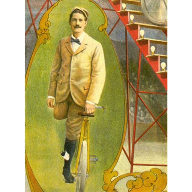Kilpatrick's Famous Ride Print of Circus Poster - Image 2 of 4