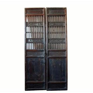 Antique Chinese Wood Screen Door Preview