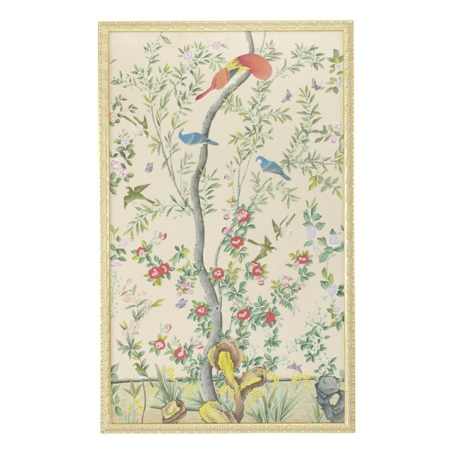 Chelsea House Inc M'treal Bird Panel Painting For Sale