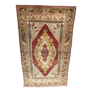 Turkish Wool Oushak Rug For Sale
