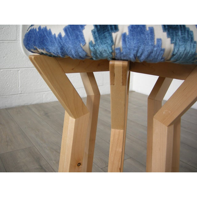 Aster Stool x Hunt & Noyer YEAR: 2016 MADE IN: Detroit, MI ASTER STOOL: Modern geometric stool with handcrafted maple base...