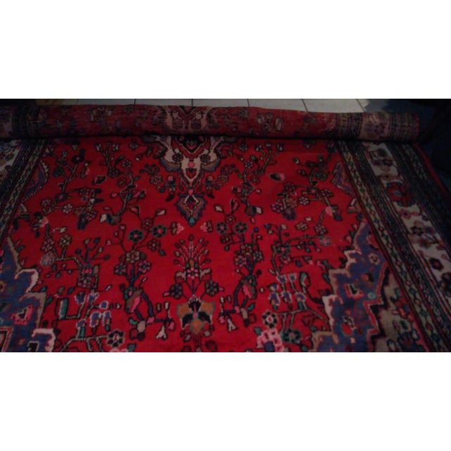 Hand Knotted Persian Area Rug - 5'11 x 10'3 - Image 11 of 11