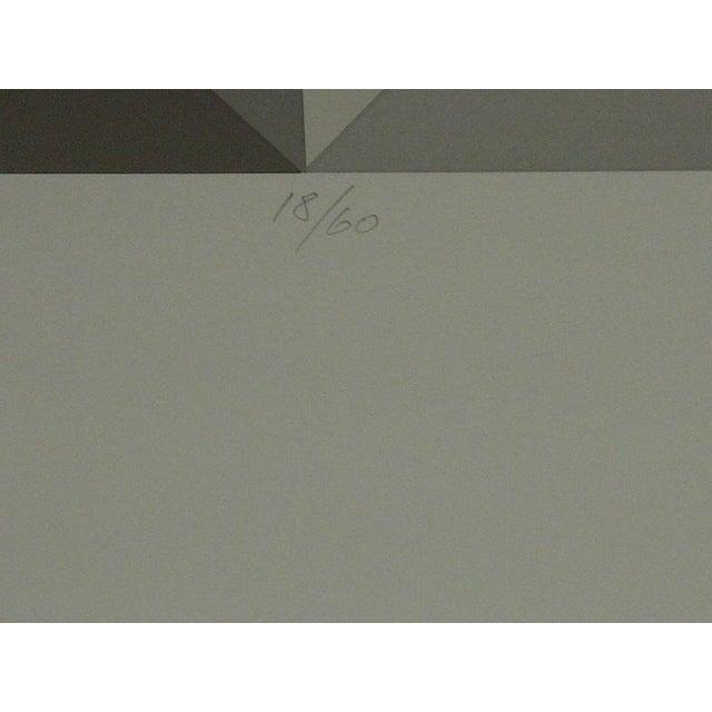 "Limited Numbered (18/60) Signed Print ""Oribus Iv"" Mike Kutchner For Sale - Image 5 of 6"