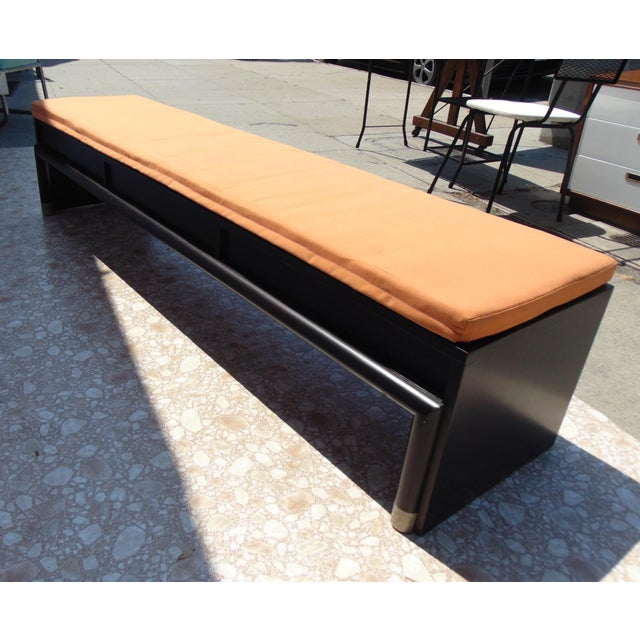 3-Drawer Coffee Table/Bench With Cushion - Image 6 of 11