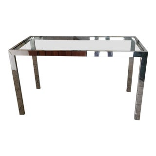 1970s Vintage Brueton Console Table