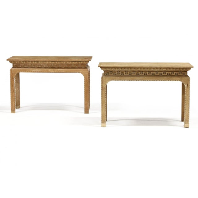 Vintage Italian Carved Console Tables - a Pair For Sale - Image 11 of 11