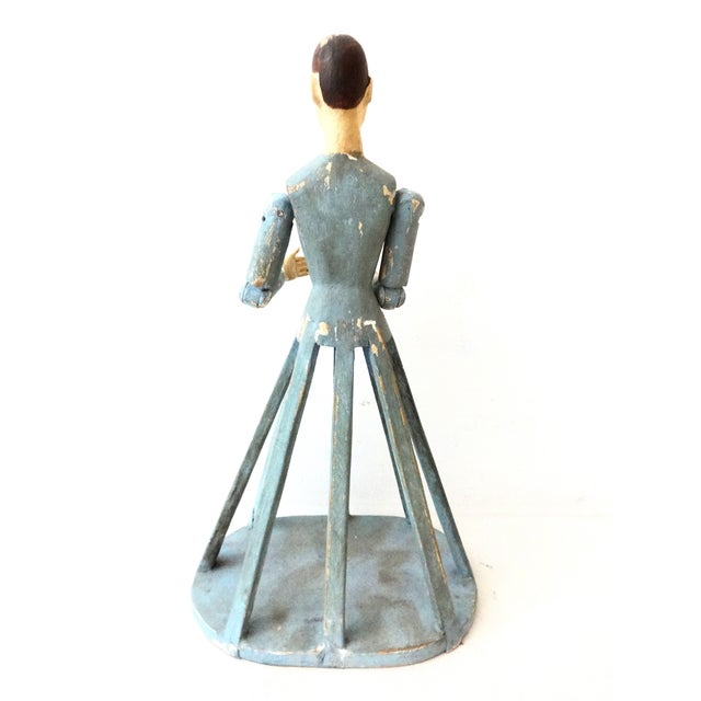 Hand Carved Wood Articulated Hands Doll/Mannequin - Image 4 of 6