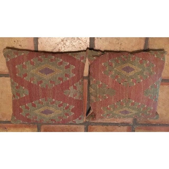 Pottery Barn Kilim Pillow Shams A Pair