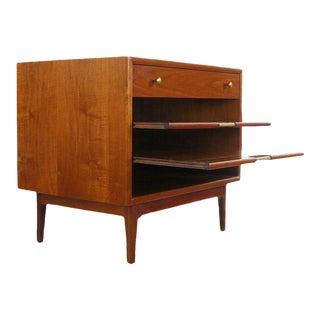 1960s Danish Modern Kipp Stewart for Drexel Declaration Magazine Rack/End Table For Sale