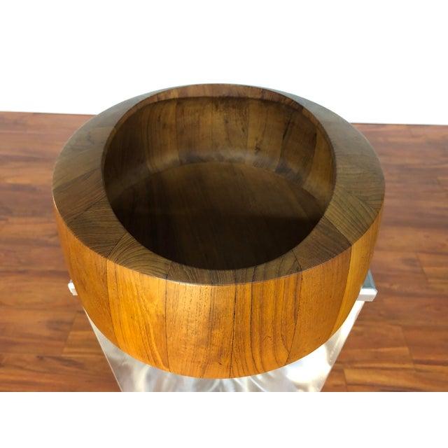 Dansk Jens Quistgaard Staved Teak Bowl by Dansk For Sale - Image 4 of 9