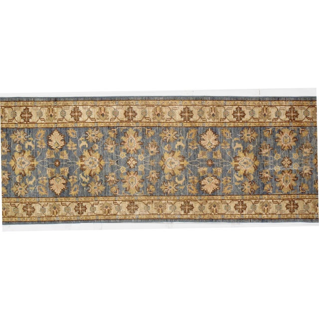 Pak Oushak rug . Handmade and hand-knotted. Lamb's wool on a cotton foundation Hand-Spun Wool Rug Vegetable Dyed
