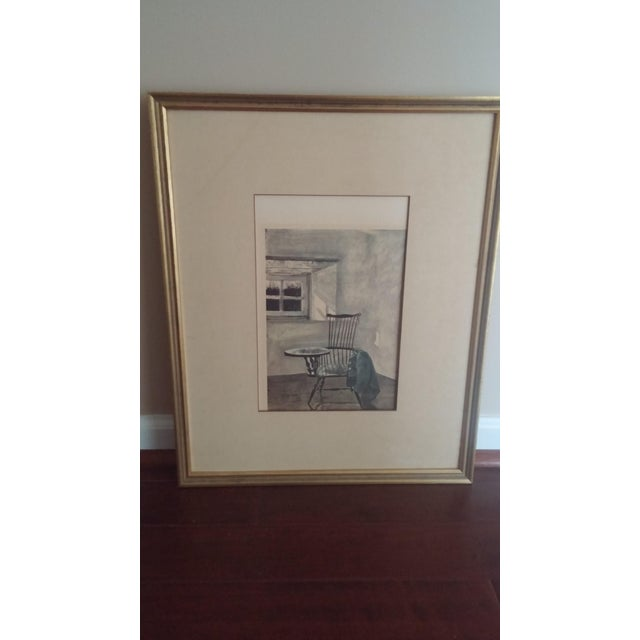 "1961 Andrew Wyeth ""Early October"" Drawing For Sale - Image 5 of 8"