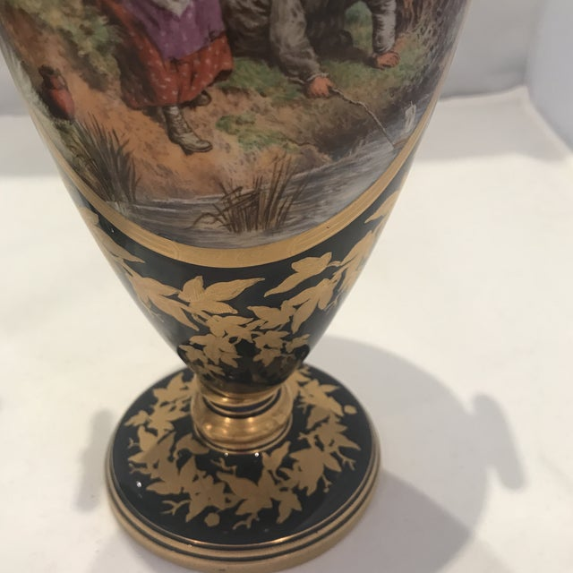Late 19th Century 19th Century Royal Worcester Vases - a Pair For Sale - Image 5 of 13