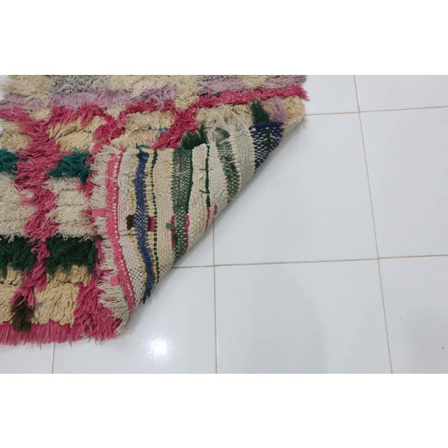 Islamic 1980s Moroccan Azilal Rug - 3′5″ × 6′3″ For Sale - Image 3 of 5