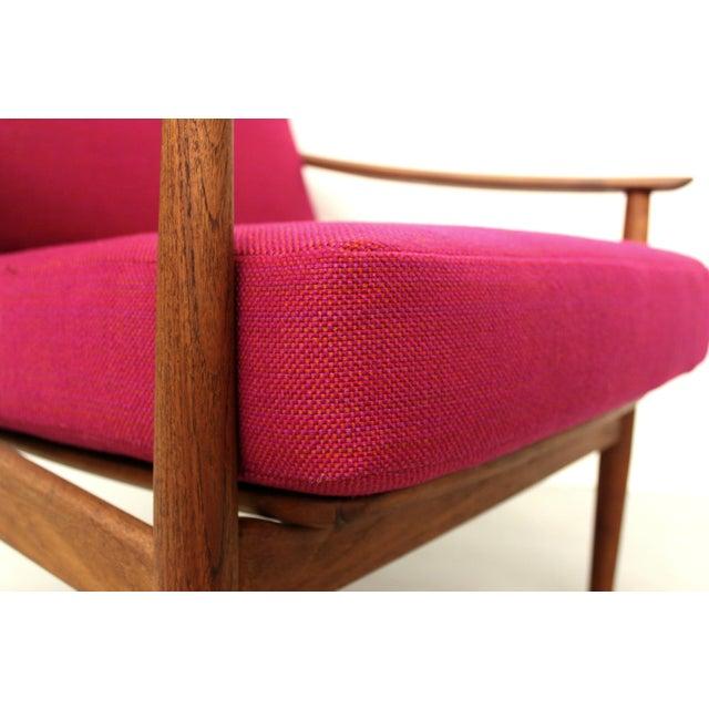 Danish Teak Lounge Chair Arne Vodder France & Son For Sale - Image 9 of 11