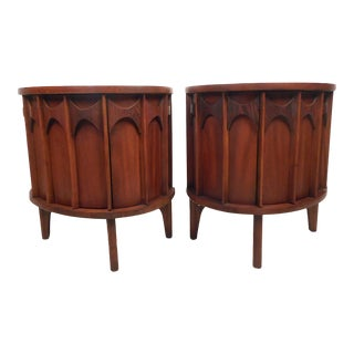 "Pair of Kent Coffey ""Perspecta"" End Tables For Sale"