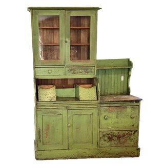 """Antique Kitchen """"Kentucky"""" Pantry Cupboard For Sale"""