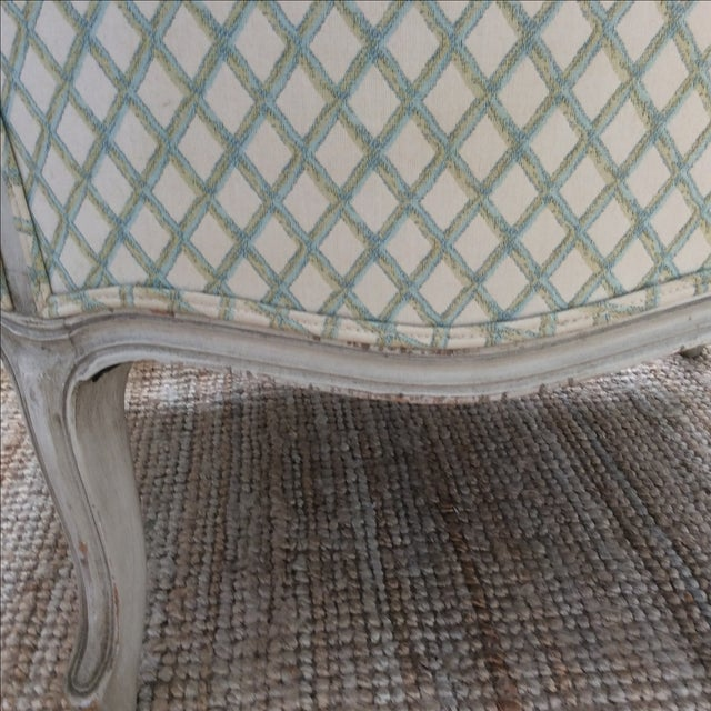 Vintage Louis XVI Bergere Style Chair - Image 4 of 7