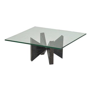 Paul Evans for Directional Welded Steel Coffee Table For Sale