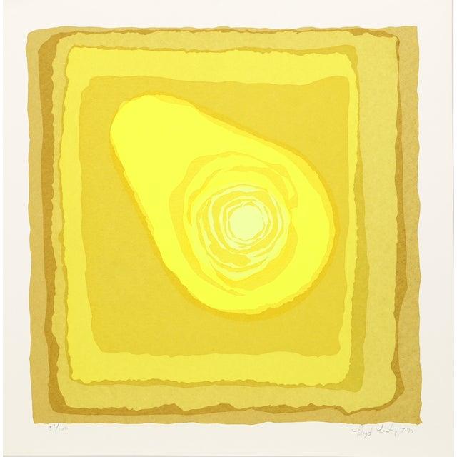 Lloyd Fertig, Untitled 6, Serigraph - Image 1 of 2