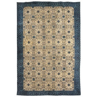 Antique 19th Century Chinese Rug For Sale