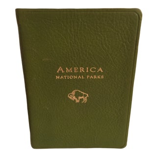 Leather Bound America National Parks Book For Sale