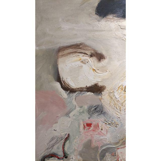 Abstract Joan Jacobs - 1959 Abstract Oil Painting For Sale - Image 3 of 11
