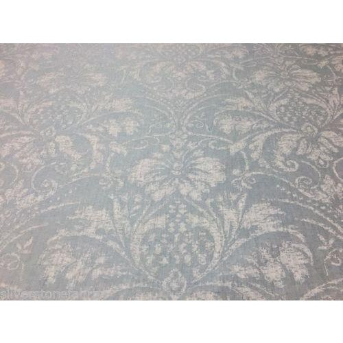 Offered is 9.75 yards of Serenity in Sea Spray Blue by Romo. Pattern: Serenity - M378-04 Color: Sea Spray Length: 9.75...