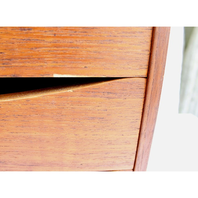 Arne Vodder Teak File Box Desk Organizer - Image 3 of 5