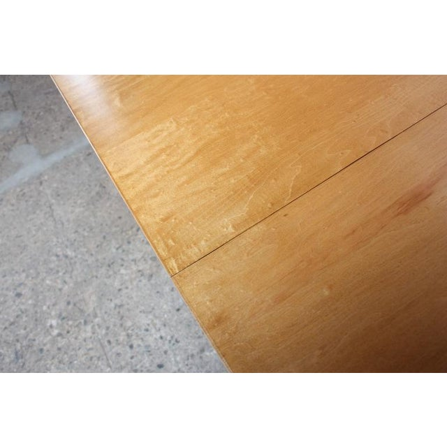 Paul McCobb Maple Extendable Dining Table - Image 9 of 11