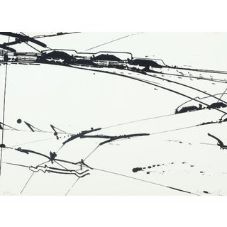 Composition by Kurt R Hoffman Sonderborg Lithograph 69/100 For Sale
