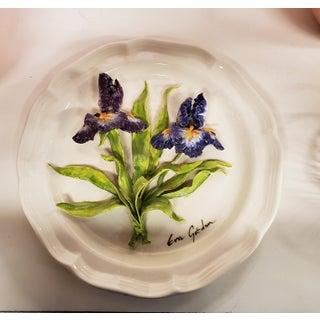 1980's Eva Gordon Ceramic Decorative Plate Preview