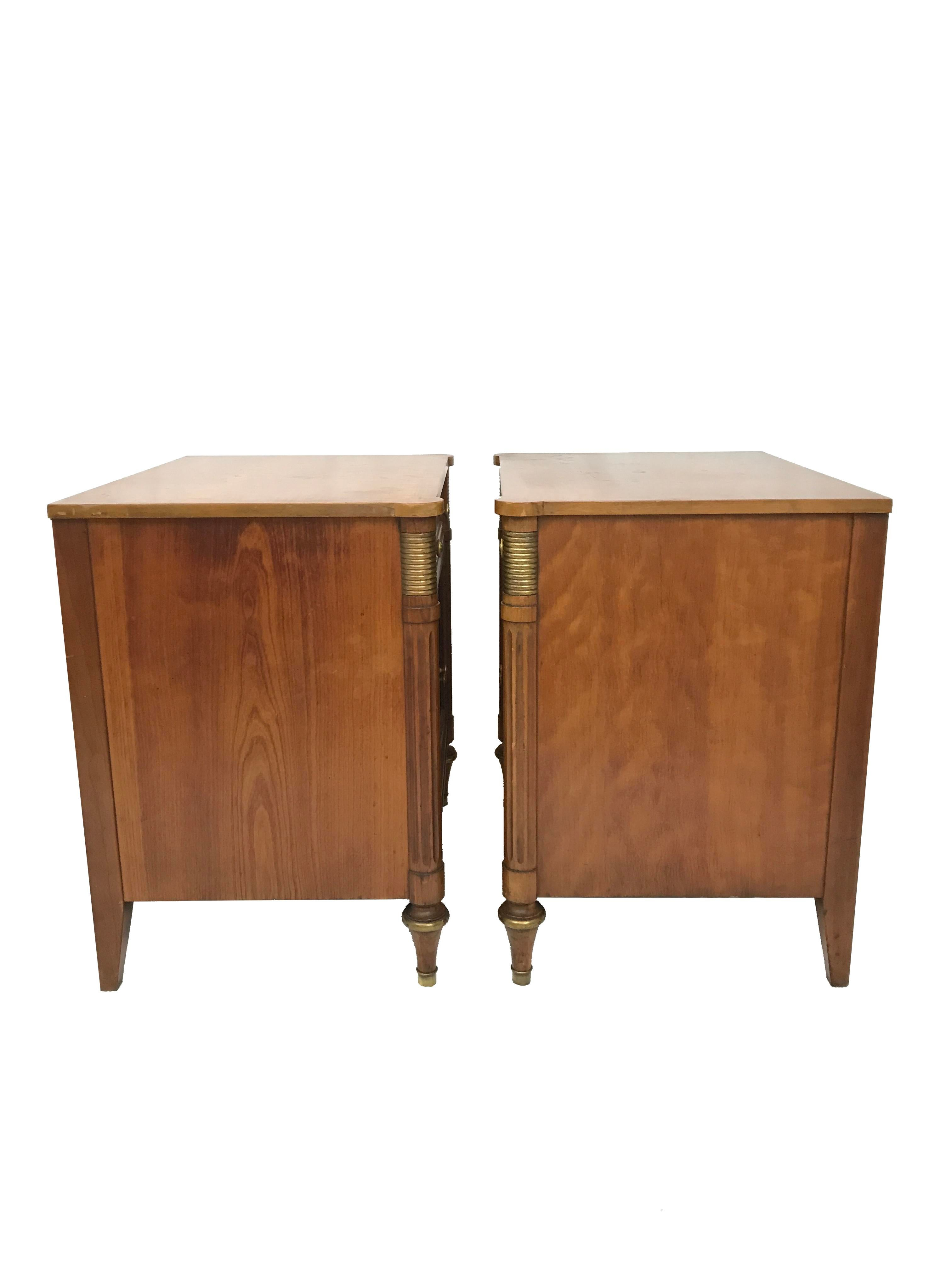 Kindel Furniture Co. Belvedere Collection Nighstands   A Pair For Sale    Image 5 Of